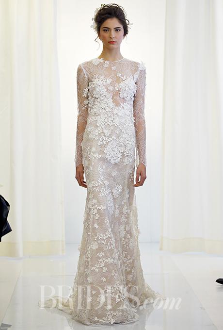 Angel Sanchez wedding dress as seen on Brides.com