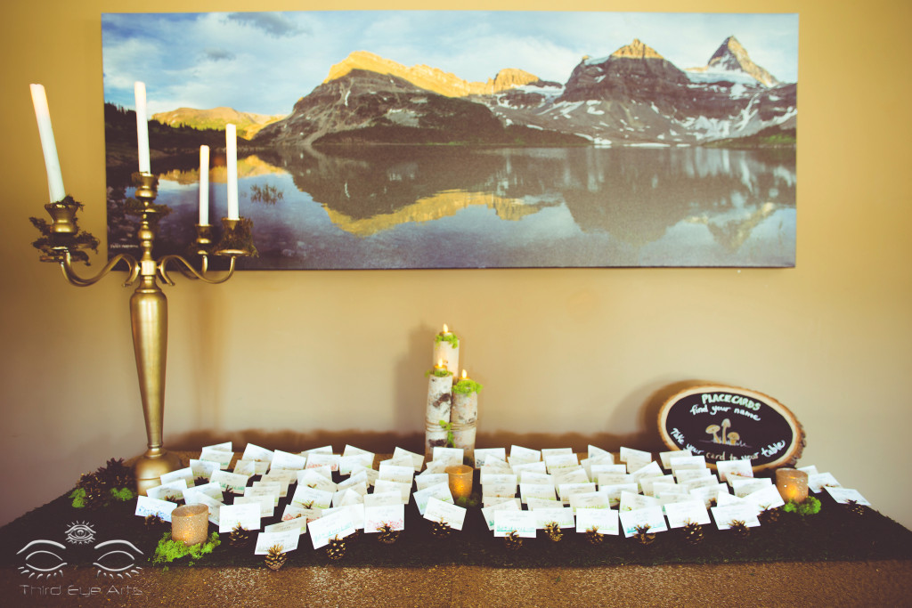 Escort card table