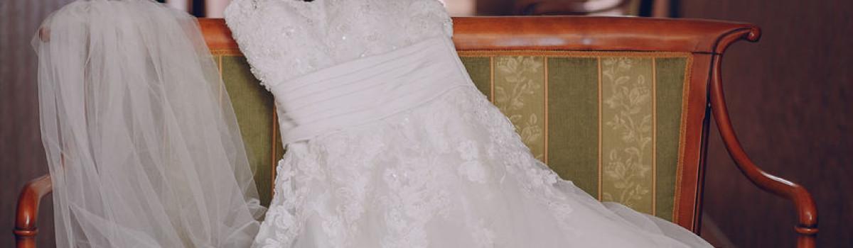 wedding dress for stock