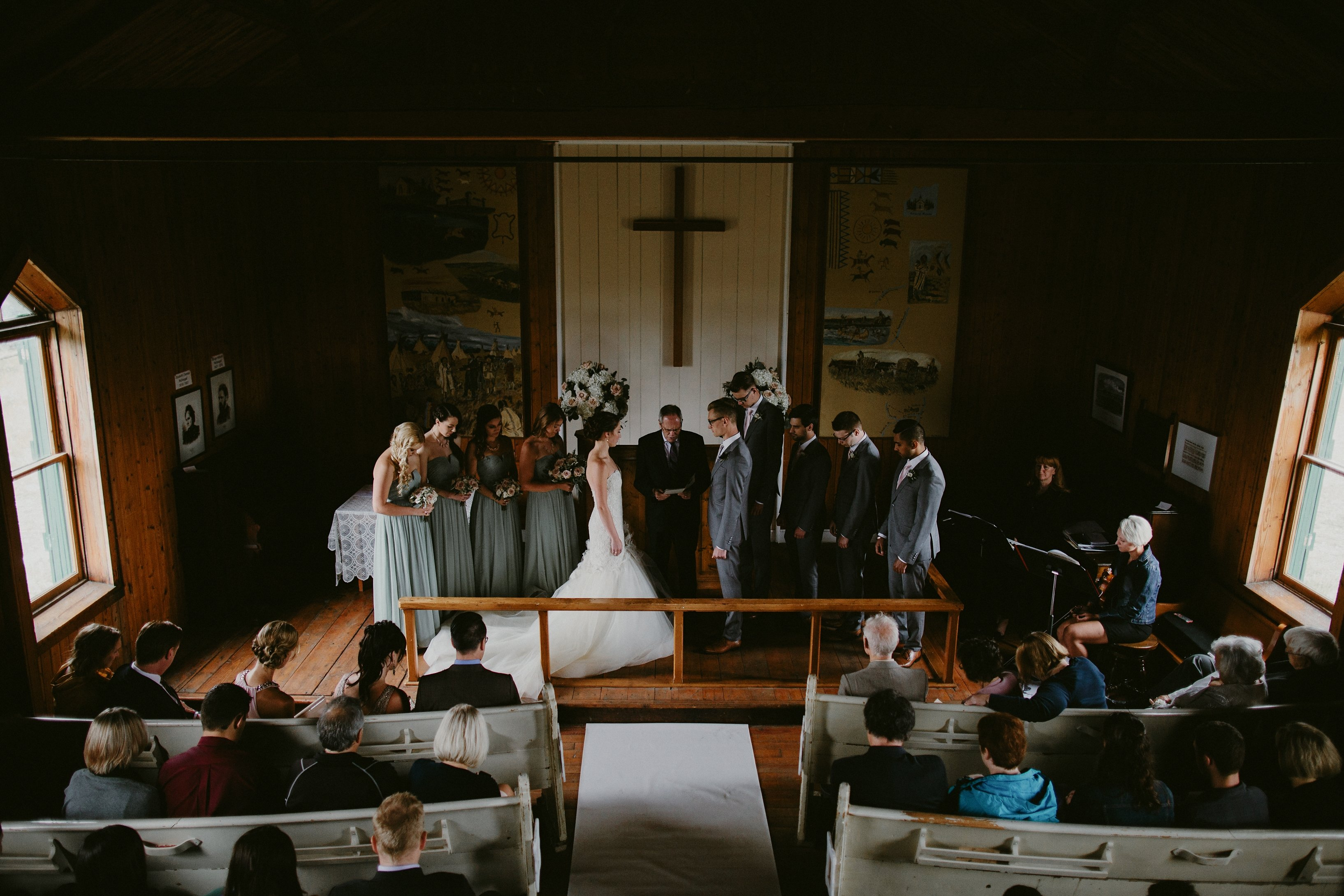 Rustic Calgary Wedding by Boutiq Weddings and Events