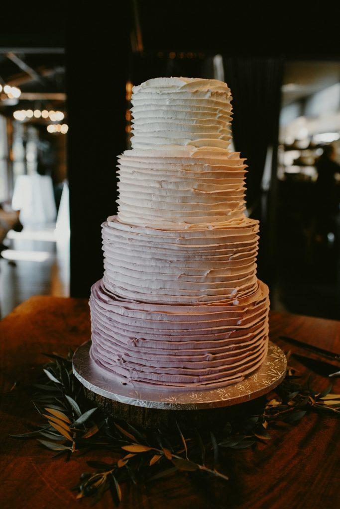 Rustic Calgary wedding Cake
